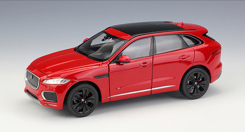 1/24 Welly Jaguar F-Pace Fpace (Red) Diecast Car Model