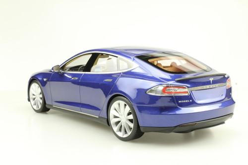 1/18 LS Collectibles Tesla Model S P100D (Blue) Car Model