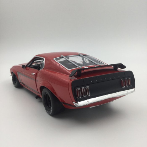 1/18 ACME 1969 Ford Mustang Boss 302 (Red) Diecast Car Model