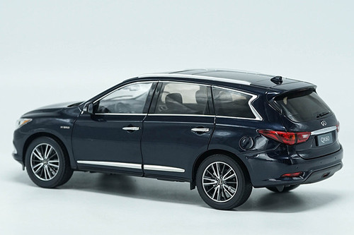 1/18 Dealer Edition 2017 Infiniti QX60 (Dark Blue) Diecast Car Model