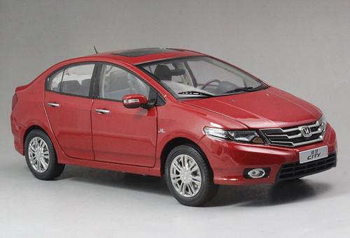 1/18 Dealer Edition Honda City (Red)