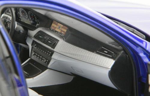 1/18 Paragon BMW M5 (F10) (Blue) Diecast Car Model