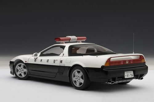1/18 AUTOart Honda NSX Japanese Police Car Diecast Car Model 73274