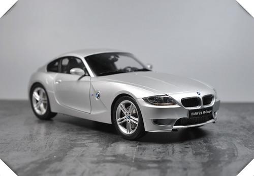 1/18 Kyosho BMW Z4 M Z4M Coupe (Silver) Diecast Car Model