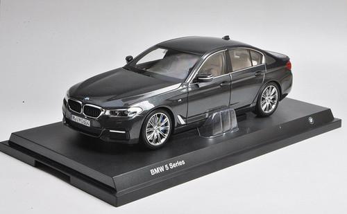 1/18 Dealer Edition BMW G30 5 Series 530i 540i M550i (Grey Black) Diecast Car Model