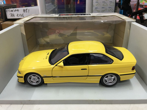 1/18 UT BMW E36 M3 (Yellow)