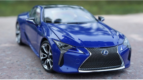 1/18 Dealer Edition Lexus LC LC500H LC500 (Blue) Diecast Car Model
