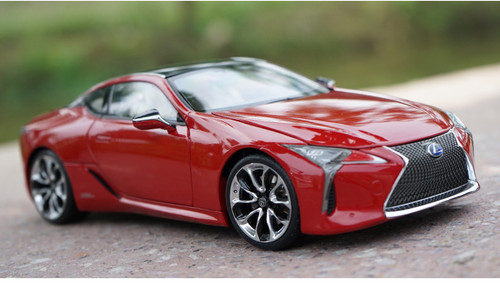 1/18 Dealer Edition Lexus LC LC500H LC500 (Red) Diecast Car Model