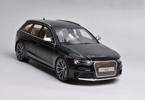 1/18 GT Spirit GTSpirit Audi RS4 Avant (Black) Limited