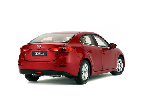 1/18 Dealer Edition MAZDA 3 Axela Sedan (Red) Diecast Car Model