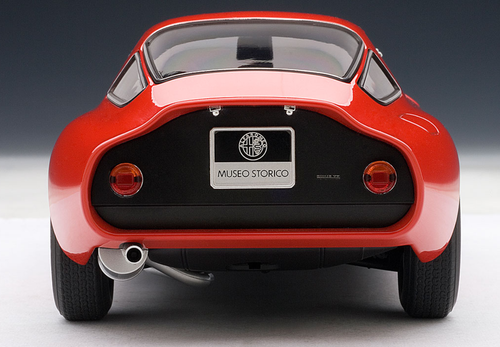1/18 AUTOart ALFA ROMEO TZ 1963 - RED Diecast Car Model