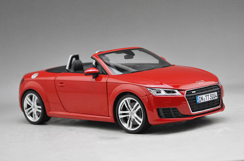 1/18 Audi Collection Dealer Edition Audi TT Coupe Convertible (Red)