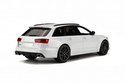 1/18 GTSpirit Audi RS6 ABT Avant C7 (White) Resin Model Limited