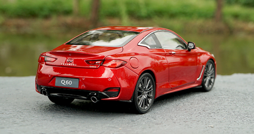 1/18 Dealer Edition Infiniti Q60S Q60 S (Red) Diecast Car Model