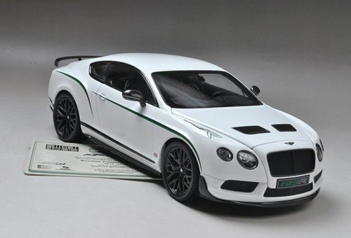 1/18 Almost Real Bentley Continental GT3R GT3 R (White) Limited 1999