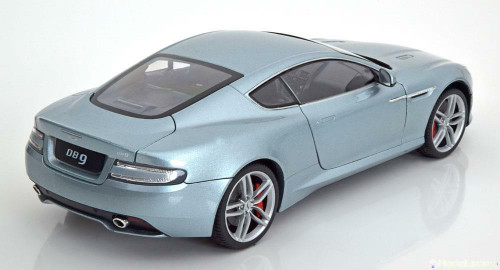 1/18 Welly FX Aston Martin DB9 Coupe (Blue) Diecast Car Model