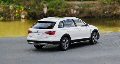 1/18 Dealer Edition Volkswagen VW C-Trek CTrek (White)