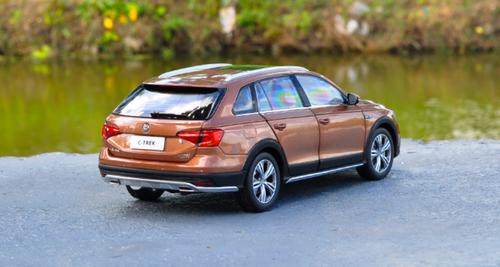 1/18 Dealer Edition Volkswagen VW C-Trek CTrek (Brown)