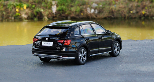 1/18 Dealer Edition Volkswagen VW C-Trek CTrek (Black)