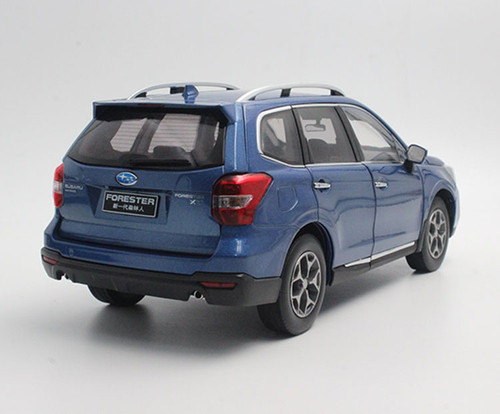 1/18 Dealer Edition Subaru Forester (Blue) Diecast Car Model