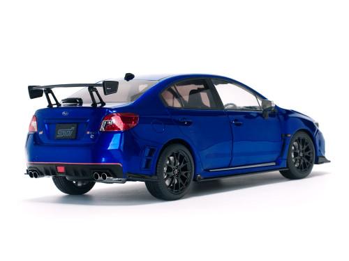 1/18 Sunstar Subaru WRX STI S207 (Blue) Diecast Car Model