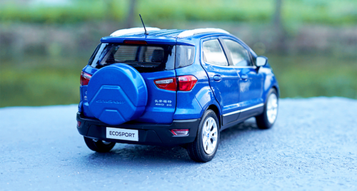 1/18 Dealer Edition Ford Ecosport (Blue) Diecast Car Model