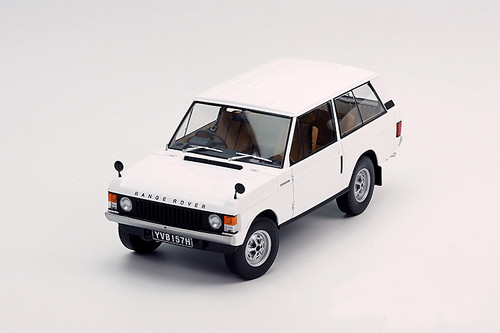 1/18 Almost Real 1970 Land Rover Range Rover (White)