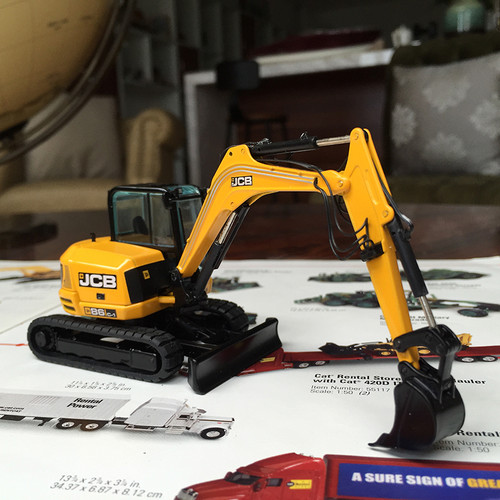 1/50 NZG JCB 86C-1 Compact Excavators