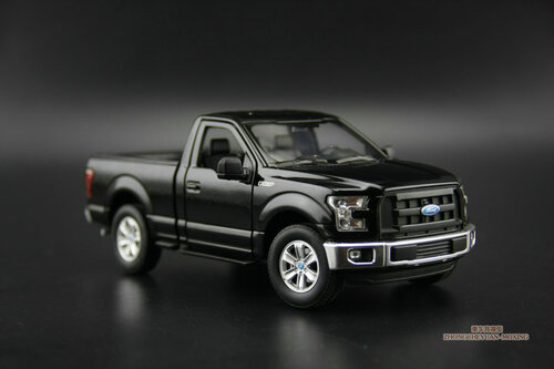 1/24 Welly Ford F-150 F150 (Black) Diecast Car Model