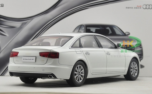 1/18 Dealer Edition Audi A6 A6L (White) Diecast Car Model