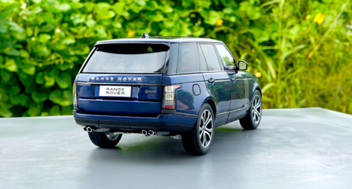 1/18 LCD MODELS 2018 Land Rover Range Rover (Blue) Diecast Car Model
