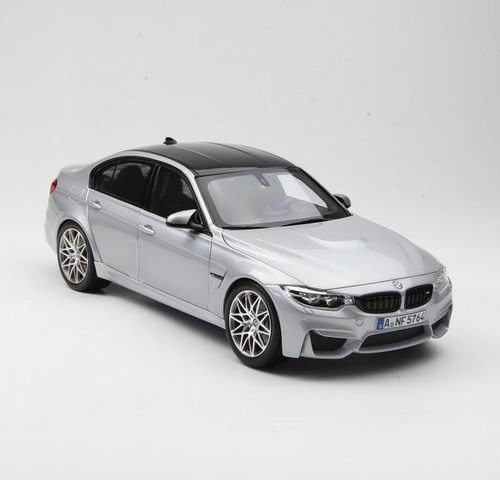 1/18 Norev BMW F80 M3 Competition Package (Silver)