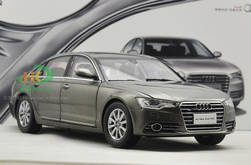 1/18 Dealer Edition Audi A6 A6L (Grey) Diecast Car Model