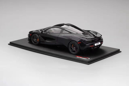 1/18 TSM Top Speed TopSpeed Mclaren 720S (Black) Resin Model (foam box only with display base)