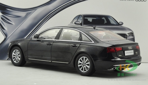 1/18 Dealer Edition Audi A6 A6L (Black) Diecast Car Model