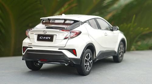 1/18 Dealer Edition Toyota C-HR CHR IZOA (White) Diecast Car Model