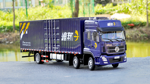 1/24 Dongfeng Deppon Delivery Truck