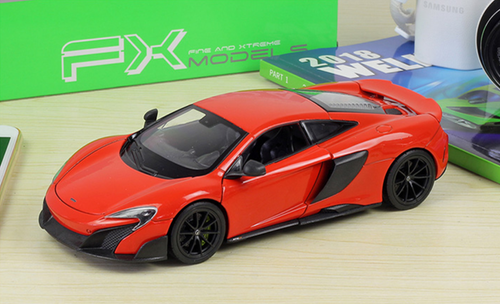 1/24 Welly Mclaren 675LT (Red) Diecast Car Model