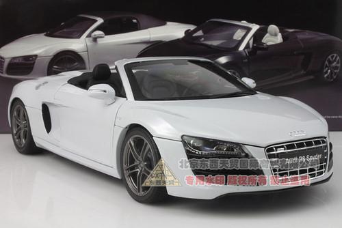 1/18 Audi R8 Spyder (White)