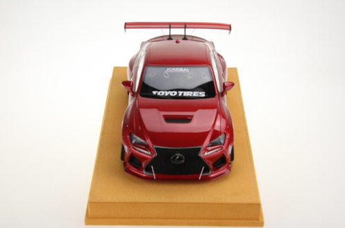 1/18 VAV Lexus RC F RCF Liberty Walk LB Wide Body Resin Enclosed Model (Red)