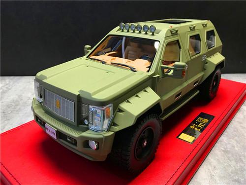 1/18 Dealer Edition G. Patton SUV Resin Enclosed Resin Car Model