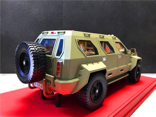 1/18 Dealer Edition George S. Patton SUV (Green) Resin Enclosed Resin Car Model