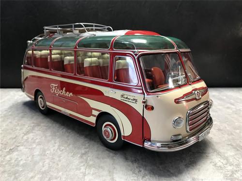 1/18 Schuco Mercedes-Benz Setra S6 Fischer Bus Diecast Model
