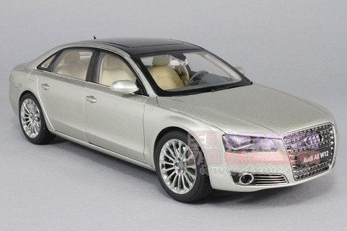 1/18 Kyosho Audi A8 L A8L W12 (Champagne) Diecast Car Model