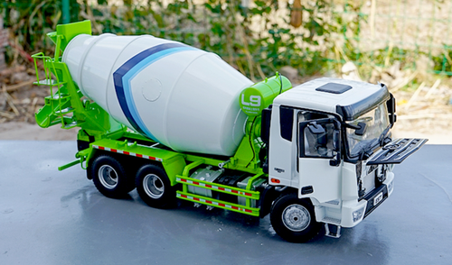 1/24 Dealer Edition Foton EST LOXA L9 Concrete Mixer Truck Diecast Model