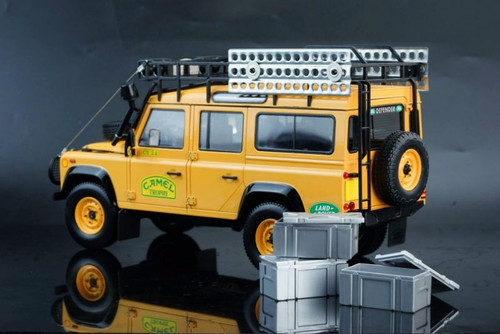 1/18 Almost Real Land Rover Defender Camel Trophy Diecast Model