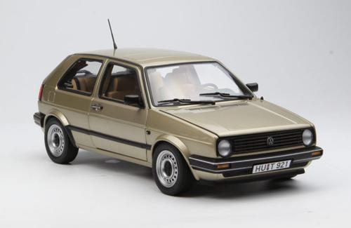 1/18 Norev 1985 Volkswagen VW Golf CL (Champagne) Diecast Model