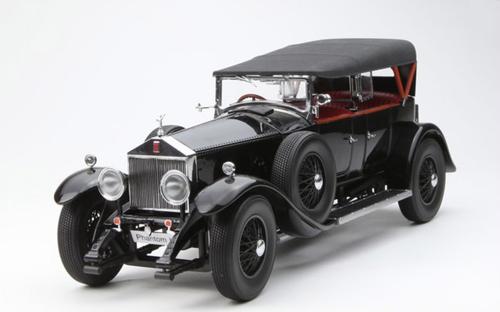 1/18 Kyosho 1927 Rolls-Royce Phantom ONE Phantom I Phantom 1 (Black) Diecast Model