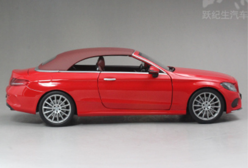 1/18 Dealer Edition Mercedes-Benz C-Class Coupe C-Klasse Cabriolet (Red) Diecast Model