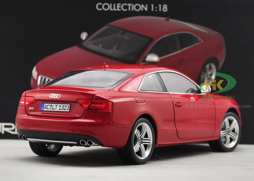 1/18 Norev Audi S5 (Red) Diecast Car Model